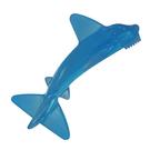 【奇買親子購物網】美國 Baby Banana 幼兒學習軟性鯊魚牙刷0-1Y(可當固齒器使用)