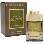 BVLGARI 寶格麗 城市森林男性淡香精 5ml 小香【娜娜香水美妝】Wood Essence 61040