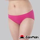 【EasyMain 無縫高彈性快乾輕柔內褲《桃紅》】YE00009-14/排汗機能/運動內褲/透氣快乾/三角褲