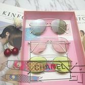 雙十二狂歡購眼淚墨鏡太陽鏡果凍色女透明眼鏡【奇貨居】