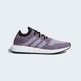 ISNEAKERS ADIDAS ORIGINALS SWIFT RUN PK 紫色 彩虹 編織 切割底 男鞋 CQ2896