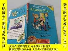 二手書博民逛書店Five罕見And Ahalf-Term Adventure:五個月的冒險Y200392
