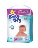【Ezycare】嬰孩尿褲 10片/包 M--12包(美國平行輸入~特價中!!!)*12包