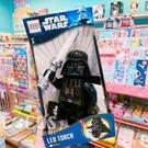 LEGO 星際大戰 STAR WARS 黑武士手電筒 光劍版 人偶造型LED 盒裝20公分 COCOS LG797