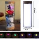 七彩燈光玻璃瓶