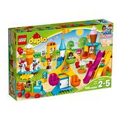 10840【LEGO 樂高積木】得寶幼兒系列 Duplo -大型遊樂場 (106pcs)