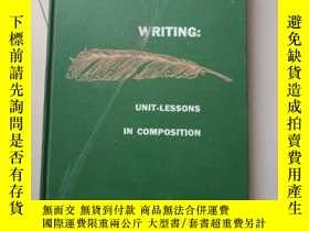 二手書博民逛書店(英文原版)Writing:罕見Unit-Lessons in