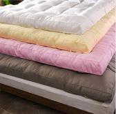 床墊加厚羽絨棉床墊10cm床褥子1.5m1.8m米可折疊床護墊榻榻米雙人墊被 莎拉嘿幼