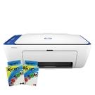 【搭一黑一彩填充包組合】HP DeskJet 2621 相片噴墨多功能事務機 紳士藍