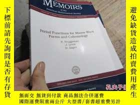 二手書博民逛書店period罕見functions for maass wave