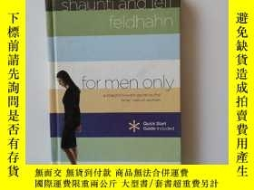 二手書博民逛書店For罕見Men Only : A Straightforward Guide to the Inner Live