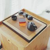竹制茶盤家用功夫茶具長方形小茶盤