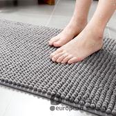 防滑墊/衛生間地墊門墊進門廁所衛浴吸水門口墊子腳墊家用浴室地毯