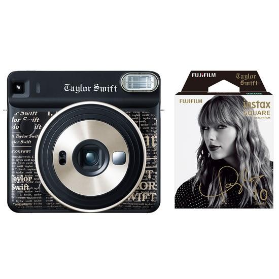 FUJIFILM INSTAX SQUARE SQ6 相機底片組-泰勒絲版 方形拍立得相機 方形底片 富士恆昶公司貨