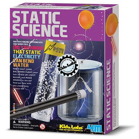 神奇靜電科學 Static Science 頭髮豎起來 11種關於靜電科學的實驗