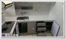 ❤PK廚浴生活館 實體店面❤高雄 廚房歐化系統櫥具 上下櫥L型流理台 LG人造石 美耐板