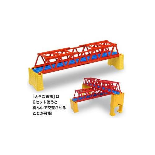 火車軌道配件 J-04 新大鐵橋 (PLARAIL鐵道王國)