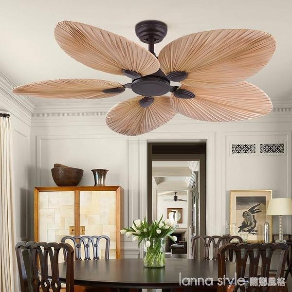 風扇燈傳統吊扇燈餐廳客廳臥室無燈裝飾吊扇 全館新品85折 YTL