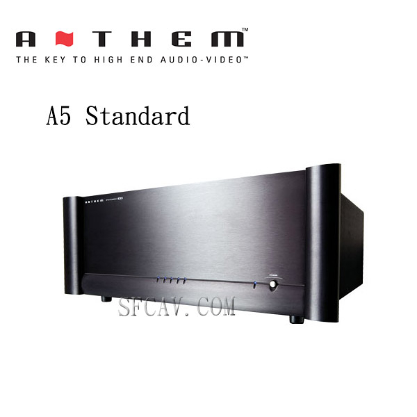 【新竹勝豐群音響】Anthem A5 Standard 後級擴大機