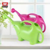 創意大象灑水壺塑料澆花噴壺園藝工具     SQ7269『寶貝兒童裝』