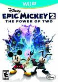 WiiU Disney Epic Mickey 2: The Power of Two 傳奇米奇 2:二人之力(美版代購)