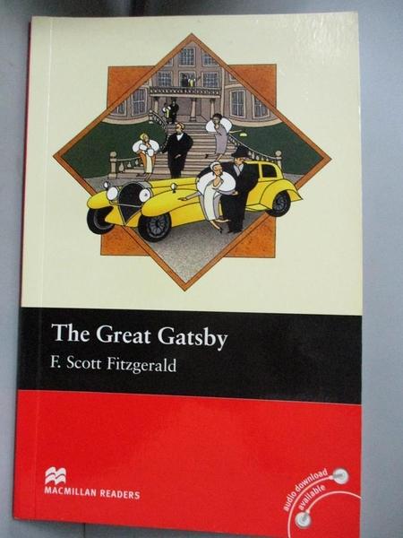 【書寶二手書T8/語言學習_LPB】Macmillan(Intermediate): The Great Gatsby_F. Scott Fitzgerald