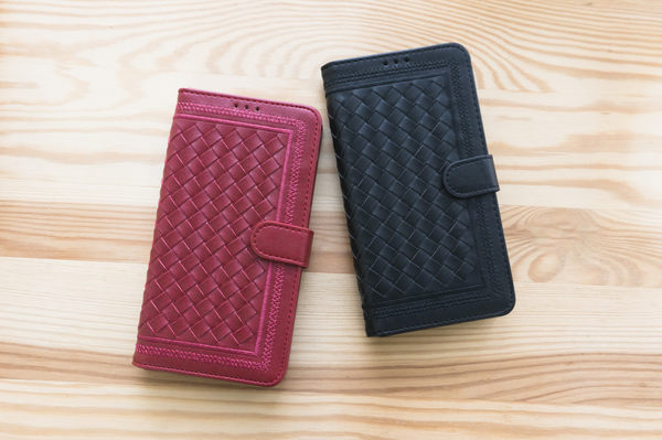 MQueen膜法女王 ASUS Zenfone3 編織 手機 皮套 磁扣 掀蓋 插卡 摺疊 可立式 5.2吋 5.5吋