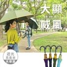 【超值2入組】雨之情 大顯威風自動直傘_4色-長直傘/大傘/車用/防曬傘/三人傘