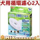 ◆加購◆GEX 犬貓用飲水器專用-活性碳濾棉(圓型)【一盒2入】