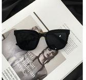 新款復古方形黑色太陽眼鏡男 個性 潮 超火墨鏡網紅 【爆款特賣】