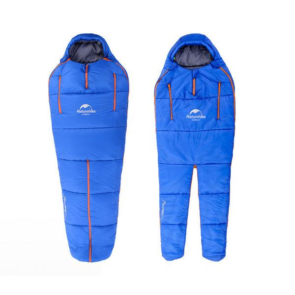 PUSH! 戶外登山用品可調節收緊頭部人型睡袋四季空調被一入P89