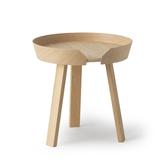 丹麥 Muuto Around Coffee Table 45cm 三角圓塔 木質 咖啡邊桌 小尺寸