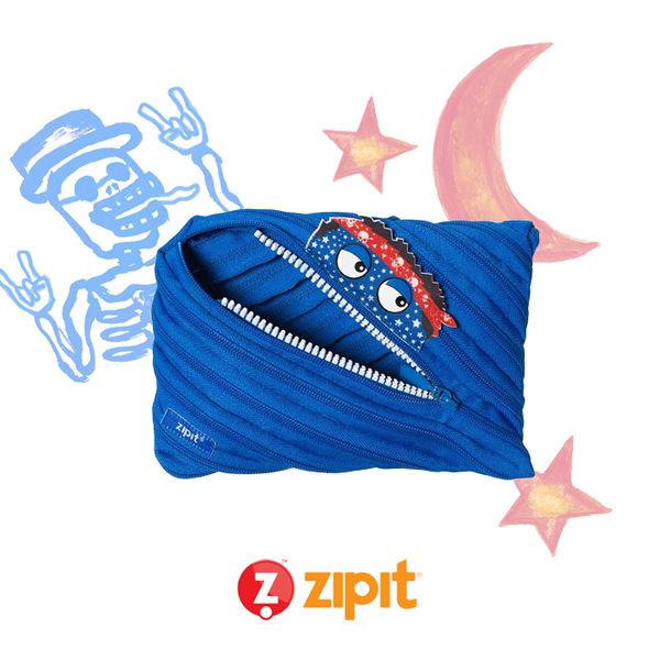 Zipit Talking 對話怪獸拉鍊包-(大)藍