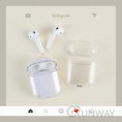 透明硬殼 Airpods pro Airpods2 蘋果耳機 保護套 防摔殼 防塵 清透 PC透明殼 收納盒 耳機盒外殼