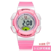 兒童手錶 手錶兒童手錶 女孩電子錶防水 小學生運動電子手錶女夜光多色 6色