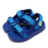 New Balance 涼拖鞋 NB 750 Wide 寬楦 藍 黃 小童鞋 【ACS】 IH750BYW