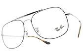 RayBan 光學眼鏡 RB6389 2970 (藍-銀) 雙槓方形鏡框 # 金橘眼鏡