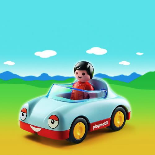playmobil 123series 小敞篷跑車_PM06790