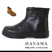 男款 悍馬 真皮高筒素色一片式套腳 鋼頭多功能 T型排壓 耐磨止滑 鋼頭鞋 工作鞋 安全鞋 59鞋廊