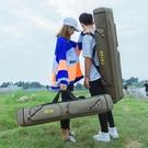 釣魚背包雙肩多功能漁具包手提防水清倉漁具魚竿包桿包釣魚包 1995生活雜貨
