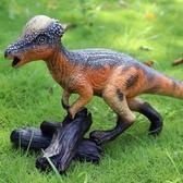 動物玩具 白堊紀恐龍 腫頭龍冥河龍兒童大號軟膠恐龍模型玩具套裝仿真動物 MKS小宅女