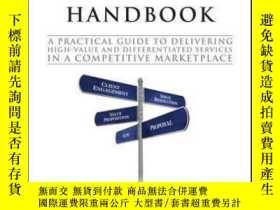 二手書博民逛書店The罕見Consultant s Handbook: A Practical Guide to Deliveri