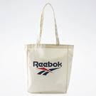 REEBOK Classics Canvas 托特包 側背包 購物袋 帆布 肩背 大容量 米白【運動世界】GK0672