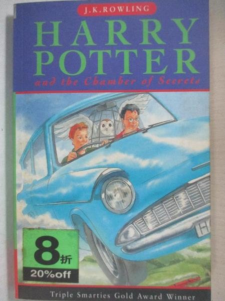 【書寶二手書T1/原文小說_C33】Harry Potter and the Chamber Of Secrets_J. K. Rowling