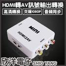 HDMI轉AV轉換器(AD-3)(HDMI-101)
