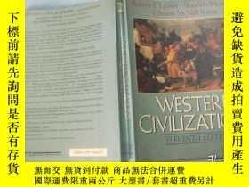 二手書博民逛書店Western罕見Civilizations(Volume 2)【英文原版 西方文明(第2卷)16開插圖本 198