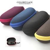 素面  眼鏡盒可裝太陽眼鏡一般眼鏡 柒彩年代~NY233 ~單個