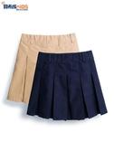女童半身裙 女童校服裙兒童純棉百褶半身裙小學生幼兒園表演出短裙2020新款秋 寶貝計書