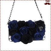 送吊飾 小米 小米6 黑玫瑰系列 皮套 碎花 韓系 手機殼 插卡 軟殼 保護套