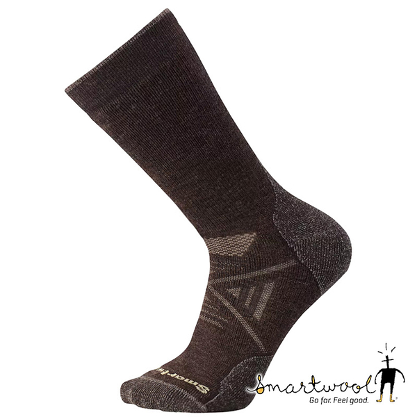 Smartwool 中性 PhD 戶外中量級中長襪『栗子棕』SW001071 美國製|保暖襪|登山襪|運動襪